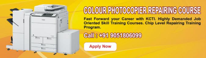 Colour Photocopier Repairing Course